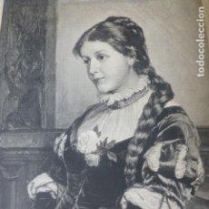 Arte: MARGARITA XILOGRAFIA 1885. Lote 200552961