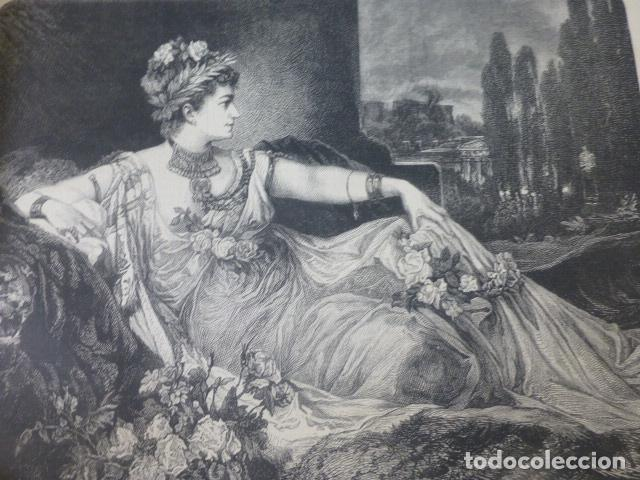 MESALINA XILOGRAFIA 1885 (Arte - Xilografía)
