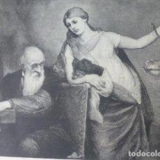 Arte: LA VIVISECCION XILOGRAFIA 1885. Lote 200573040