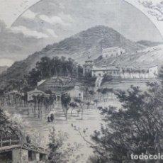 Arte: BRIHUEGA GUADALAJARA COLONIA ASUNCION XILOGRAFIA 1882. Lote 201294003