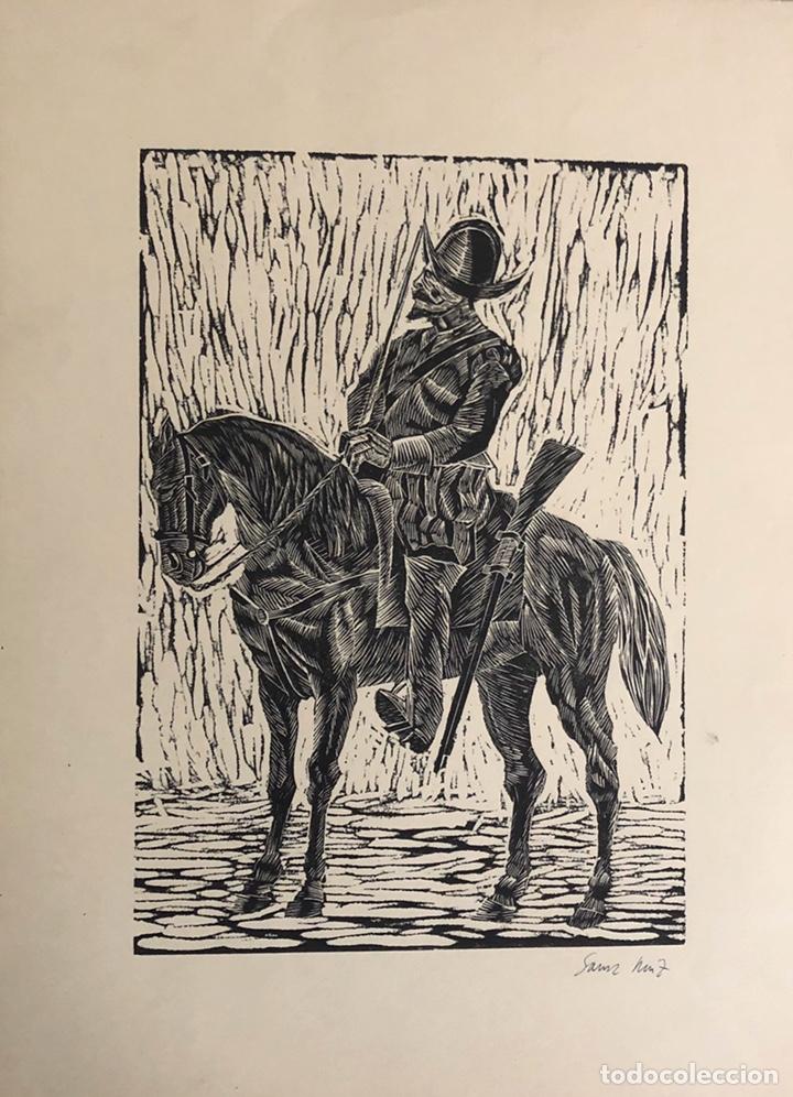 Arte: Doce xilografías militares,colección muy bonita. - Foto 4 - 202340948