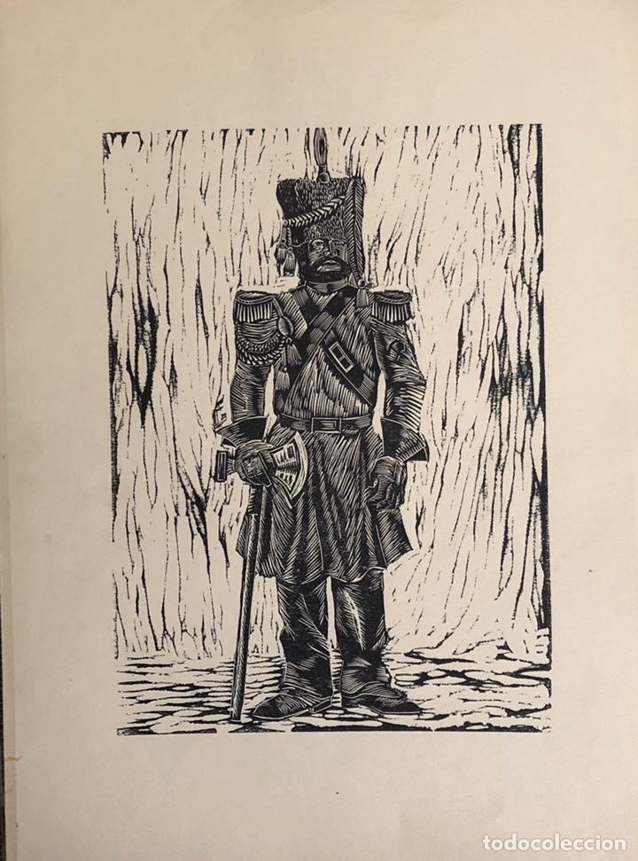 Arte: Doce xilografías militares,colección muy bonita. - Foto 9 - 202340948