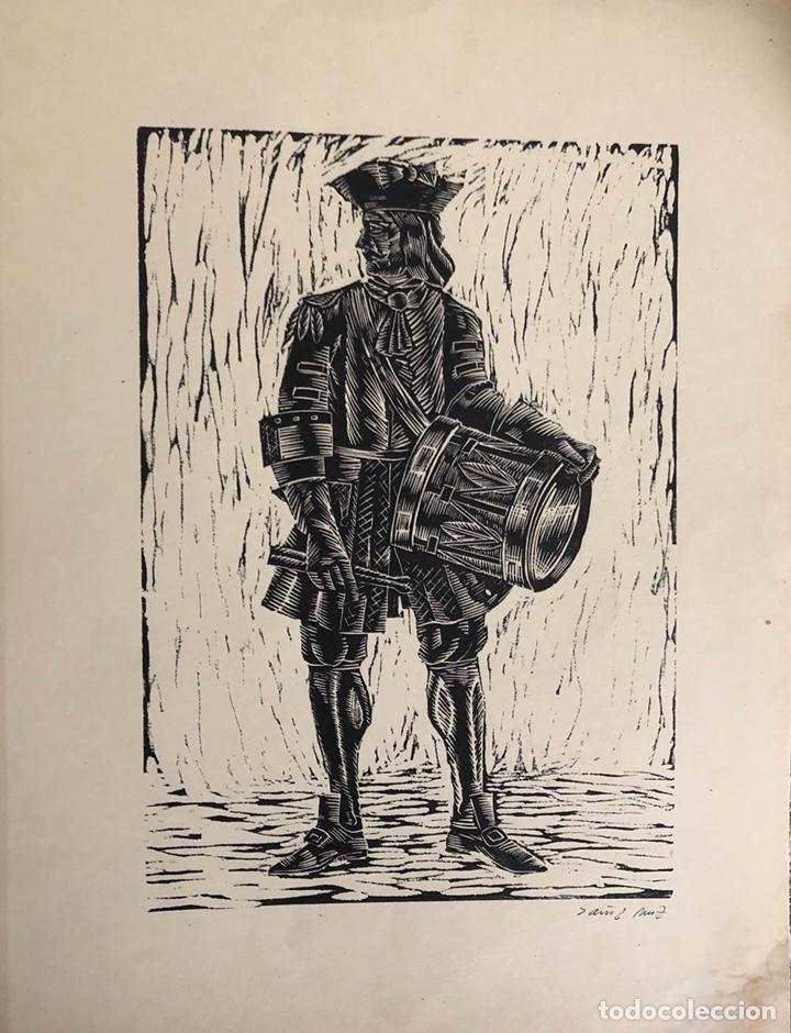 Arte: Doce xilografías militares,colección muy bonita. - Foto 11 - 202340948