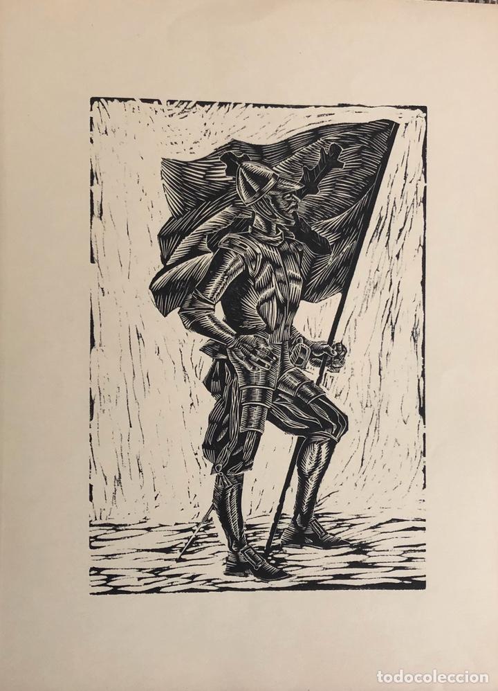 DOCE XILOGRAFÍAS MILITARES,COLECCIÓN MUY BONITA. (Arte - Xilografía)