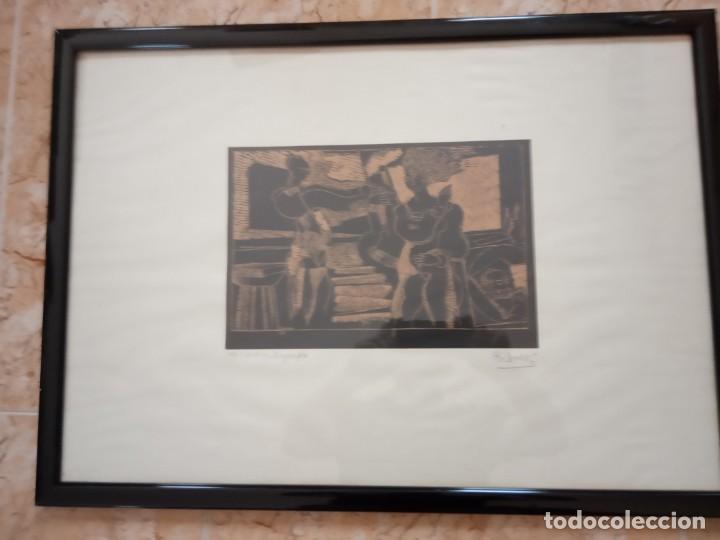 XILOGRAFIA 121/250 FIRMADA EN EL 88 (Arte - Xilografía)
