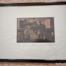Arte: XILOGRAFIA 121/250 FIRMADA EN EL 88. Lote 205438950