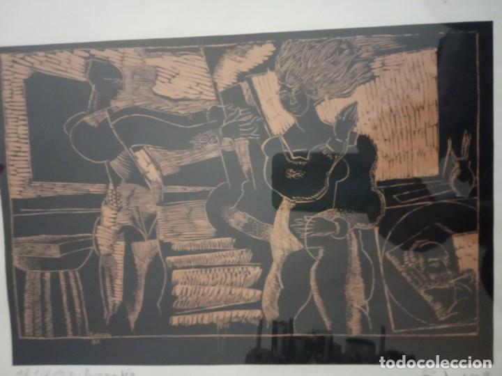 Arte: XILOGRAFIA 121/250 FIRMADA EN EL 88 - Foto 2 - 205438950
