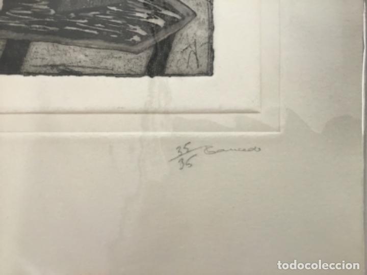 Arte: XILOGRAFÍA FIRMADA, GRANADOS. NUMERADA 35/35. 33 X 25 CM. - Foto 2 - 205783845