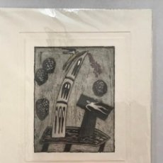 Arte: XILOGRAFÍA FIRMADA, GRANADOS. NUMERADA 35/35. 33 X 25 CM.. Lote 205783845