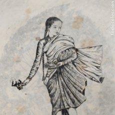 Arte: XILOGRAFIA DE T.MUNI. Lote 211410132