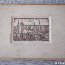 Arte: XILOGRAFÍA DE LA CIUDAD DE URBINO (ITALIA) - PIETRO SANCHINI (1915-2002). Lote 214572481