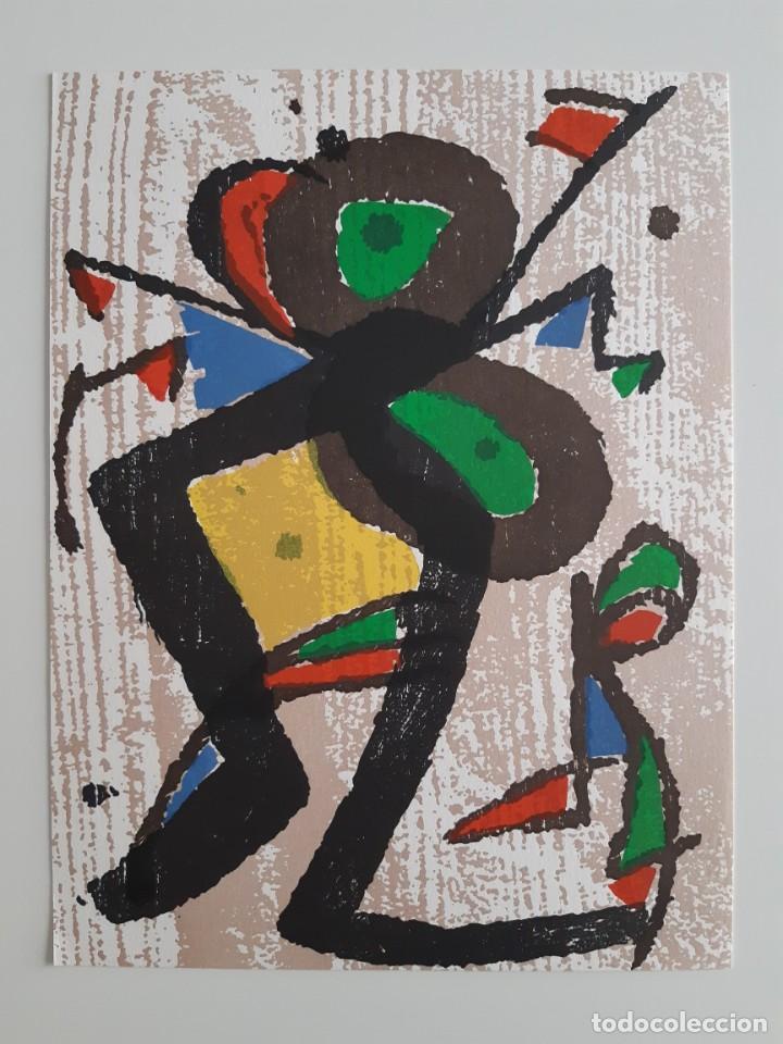 Arte: Xilografía original Joan Miró - Foto 2 - 215846176