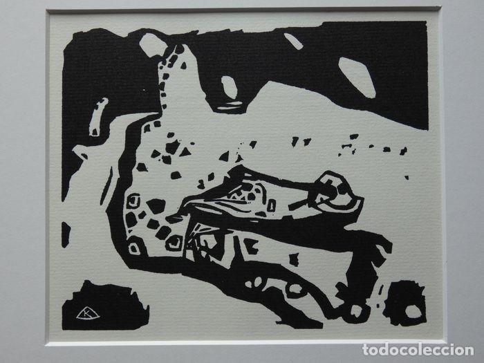 Arte: Xilografia original Wassily Kandinsky (1866-1944) Variations 21 - Foto 9 - 217954375
