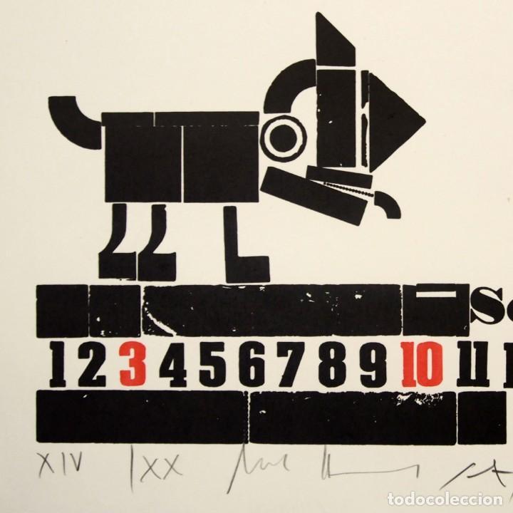 Arte: Xilografía de UWE BREMER - Foto 3 - 218137522