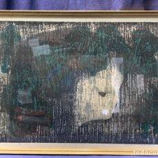 Arte: GRABADO XILOGRABADO KAORU KAWANO ROSTRO PERFIL NIÑA LAZO JAPON 82/150 FACE B 46,5X62CMS. Lote 220643995