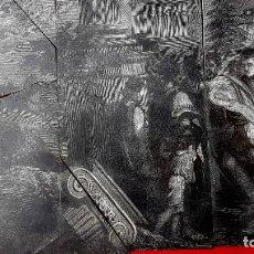 Arte: XILOGRAFIA - GRAN FORMATO - SIGLO XIX - (INCOMPLETA) - BLOQUE DE MADERA DE BOJ. Lote 221711037