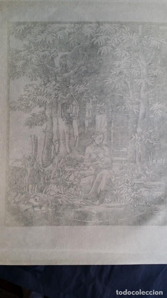 Arte: Joseph Prokop: Virgen amamantando. Grabado de 1928, firmado - Foto 8 - 222590518