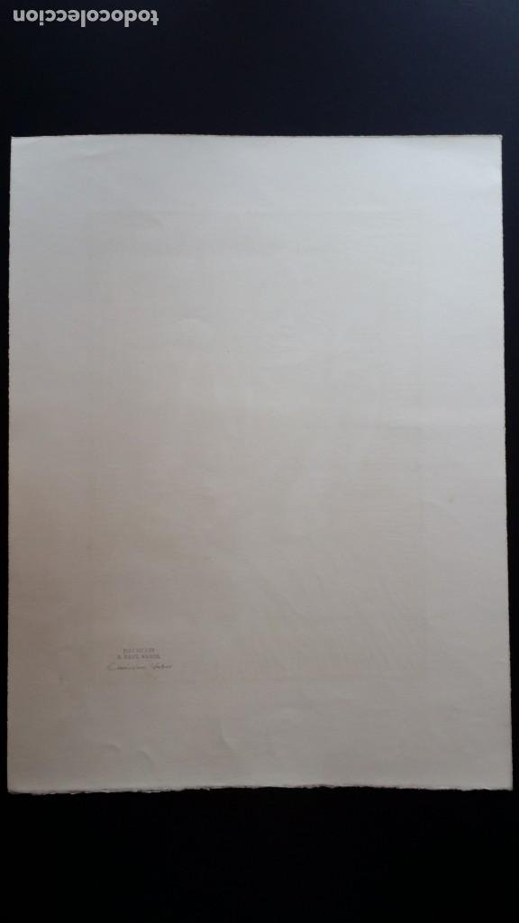 Arte: Andreas Paul Weber: Xilografía, firmas y varios sellos, 1949 - Foto 9 - 222592351