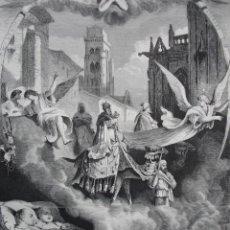 Arte: SANTOS REYES, REYES MAGOS .AÑO 1872.BUENA IMPRESION. Lote 238478620