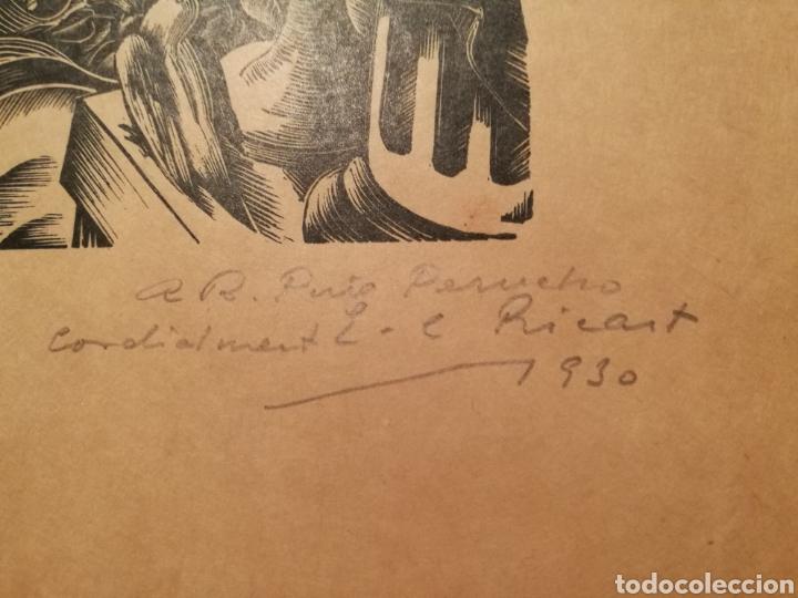 Arte: LA MUSIQUE POR ENRIC CRISTÒFOL RICART (1893-1960) DEDICADA A PUIG PERUCHO EN 1930 - Foto 3 - 241221450