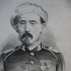 Arte: GUERRA CARLISTA JUAN FRANCESCH SORPRENDIO LA CIUDAD DE REUS . AÑO 1872 BUENA IMPRESION. Lote 242039505