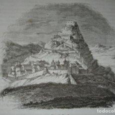 Arte: CASTILLO DE MORELLA .GRABADO DEL AÑO 1851. Lote 243145740