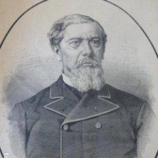 Arte: ANTONIO LOPEZ COMILLAS BARCELONA ANTIGUO GRABADO XILOGRAFICO XILOGRAFIA 1883. Lote 246689385