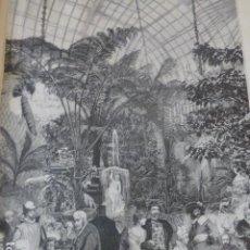 Arte: MADRID PALACIO DE FERNAN NUÑEZ BAILE ANTIGUO GRABADO XILOGRAFICO XILOGRAFIA 1884. Lote 247173765