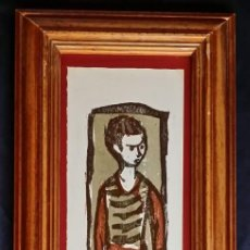 Arte: HANNS STUDER, XILOGRAFÍA FIRMADA POR EL ARTISTA SUIZO. Lote 249388130
