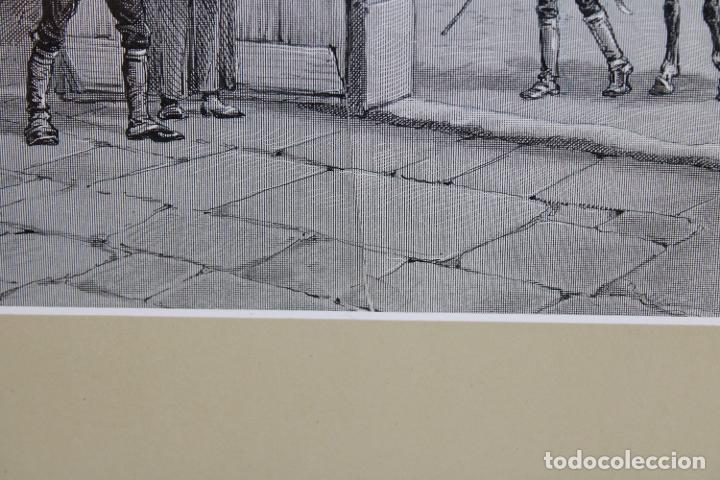 Arte: JAUME PAHISSA Y LAPORTA (1846-1928). XILOGRAFIA. ESCENA CON PERSONAJES - Foto 6 - 251166935