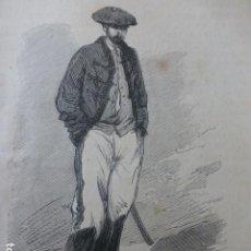 Arte: TRISTÁN DE BARBANTES GUERRAS CARLISTAS GRABADO XILOGRÁFICO XILOGRAFÍA 1874. Lote 254512115