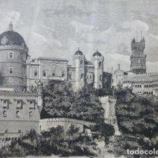 Arte: CINTRA PORTUGAL GRABADO XILOGRÁFICO XILOGRAFÍA 1874. Lote 277719308