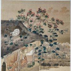 Arte: EXCELENTE GRABADO JAPONÉS DEL MAESTRO TOSA MITSUOKI, THE NIPPON MOKUHAN GASUI, UKIYO-E, XILOGRAFIA. Lote 255008245