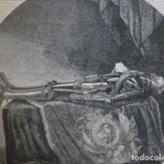 Arte: GONZALO XIMENEZ DE QUESADA GRABADO XILOGRÁFICO XILOGRAFÍA 1880. Lote 255975160