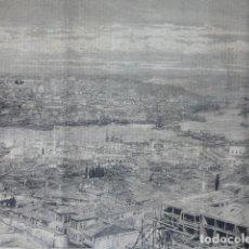 Arte: ESTAMBUL CONSTANTINOPLA TURQUÍA VISTA DE LA CIUDAD GRABADO XILOGRAFICO XILOGRAFIA 1875. Lote 256120660
