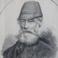 Arte: ALFRED KRUPP GRABADO XILOGRAFICO XILOGRAFIA 1878. Lote 257341405