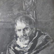 Arte: UN VIEJO MENDIGO DE FORTUNY GRABADO XILOGRAFICO XILOGRAFIA 1878. Lote 257342940