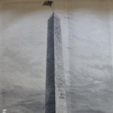 Arte: CHARLESTOWN OBELISCO GRABADO XILOGRAFICO XILOGRAFIA 1875. Lote 257467350