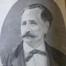 Arte: EUSEBIO LILLO LIRICO CHILENO GRABADO XILOGRAFICO XILOGRAFIA 1875. Lote 257479975