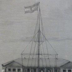 Arte: PANAY FILIPINAS NUEVA CASA DE GOBIERNO GRABADO XILOGRAFICO XILOGRAFIA 1875. Lote 257484230