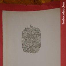 Arte: LITOGRAFIA - RICARD MARLET - AJUNTAMENT DE SABADELL - NUMERADO 7 / 200. Lote 260449950