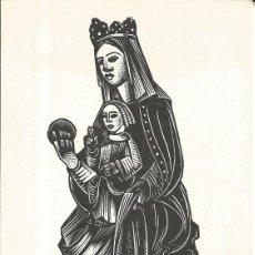 Arte: ESTAMPA NTRA. SRA. DE GRÀCIA DE LA TOSSA (STA. MARGARIDA DE MONTBUI-IGUALADA) XILOGRAFIA A. GELABERT. Lote 262795340