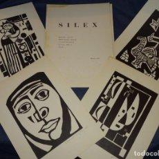 Arte: CARPETA GRUPO SILEX 5 XILOGRAFIAS,EDUARD ALCOY,HERNANDEZ PIJUAN,CARLES PLANELL,ROVIRA-BRULL,TERRI,. Lote 266516048