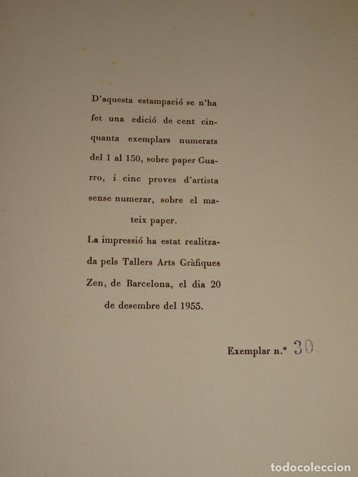 Arte: CARPETA GRUPO SILEX 5 XILOGRAFIAS,EDUARD ALCOY,HERNANDEZ PIJUAN,CARLES PLANELL,ROVIRA-BRULL,TERRI, - Foto 4 - 266516048