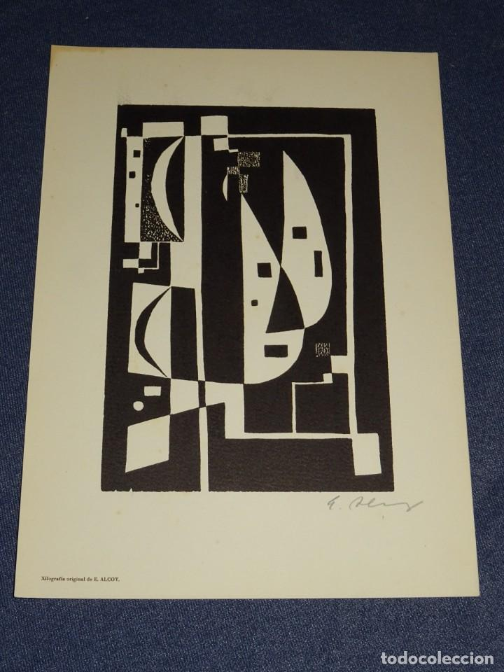 Arte: CARPETA GRUPO SILEX 5 XILOGRAFIAS,EDUARD ALCOY,HERNANDEZ PIJUAN,CARLES PLANELL,ROVIRA-BRULL,TERRI, - Foto 7 - 266516048