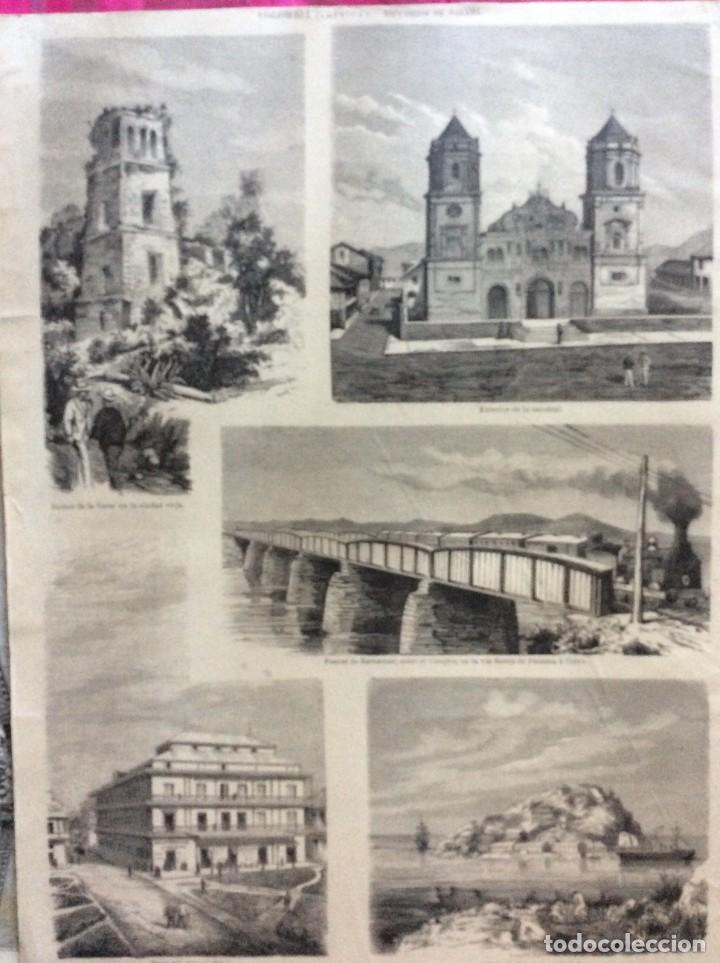 COLOMBIA ( AMÉRICA ) RECUERDOS DE PANAMÁ (Arte - Xilografía)