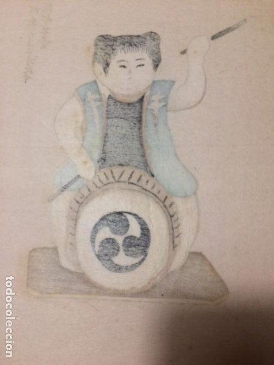 Arte: Juguetes tradicionales locales del periodo Edo 1603-1868 o gyodogangu - Foto 4 - 278387853