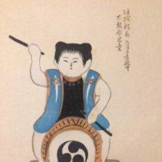 Arte: JUGUETES TRADICIONALES LOCALES DEL PERIODO EDO 1603-1868 O GYODOGANGU. Lote 278387853