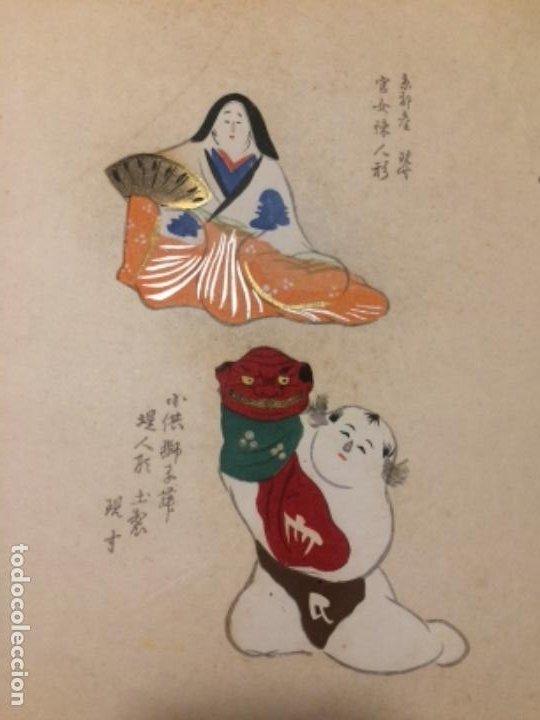 Arte: Juguetes tradicionales locales del periodo Edo 1603-1868 o gyodogangu - Foto 5 - 278387853