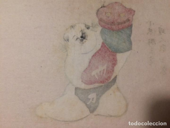 Arte: Juguetes tradicionales locales del periodo Edo 1603-1868 o gyodogangu - Foto 6 - 278387853